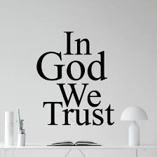 in god we trust wall decal in god we trust vinyl sticker living in god we trust wall decal in god we trust vinyl sticker living room wall decor cool religious wall art design bedroom wall decor mural 279xxx amazon