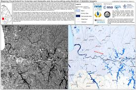 Flood Map Sentinel 1 Helping Cyclone Roanu Relief Sentinel 1 Copernicus