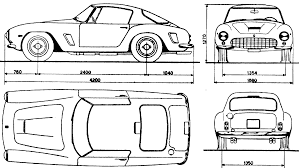 car ferrari drawing car blueprints ferrari 250 gt berlinetta spider blueprints