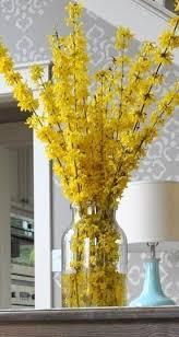 yellow vase yellow flower vase foter
