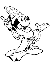 mickey coloring page glum me