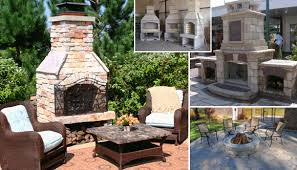 Outdoor Fireplaces And Firepits Patios With Pits Tasty Fireplace Gif Study Room Modern Patios
