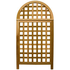 arboria 67 in cedar andover privacy screen trellis 8613146 the