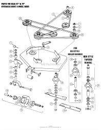 oregon scag parts diagram for scag sabre tooth tiger 52 61 72