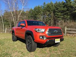 vintage toyota truck review 2016 toyota tacoma trd off road is ready to get dirty