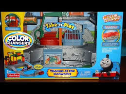 thomas ironworks color changers playset play