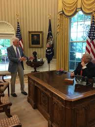Oval Office Over The Years Carr My Visit With Prez Just A Coincidence U2014 Really It Was