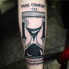 black torch tattoo