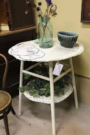 white wicker side table 178 best wicker images on pinterest balconies rattan and cane chairs