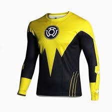 new 2017 super hero lycra compression tights sport t shirt men