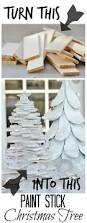 paint stick christmas tree thistlewood farm