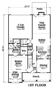 Reverse Story And A Half Floor Plans Craftsman Style House Plan 4 Beds 2 50 Baths 2250 Sq Ft Plan
