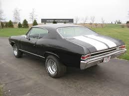 1968 chevelle interior 1968 chevelle v8 auto ac car black