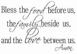 Aliexpresscom  Buy Bless The Food Family Love Religious Dining - Family room quotes