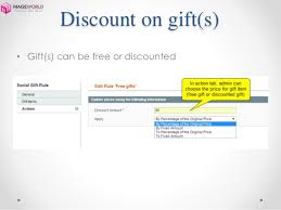 magento social gifts extension promote social now