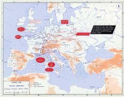 Italian Map Of Europe 1796 The Italian Campaign
