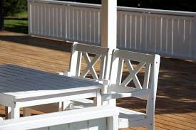 Outdoor Furniture Wood Teknos Industrial Coating Of Outdoor Furniture Teknos