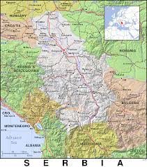 Map Of Serbia Rs Serbia Public Domain Maps By Pat The Free Open Source