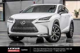 used lexus nx for sale canada used 2016 lexus nx 200t f sport ii awd cuir toit gps for sale in
