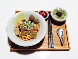 cuisine miniature miniature chef miniature food