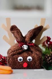 washcloth reindeer smart house