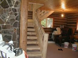 log railings log stairs l u0026 j of all trades