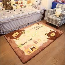 tapis ourson chambre b 2017 haute qualité bébé rer tapis non slip coton doux tapis pour