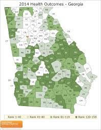 Georgia Counties Map Georgia Rankings Data County Health Rankings U0026 Roadmaps