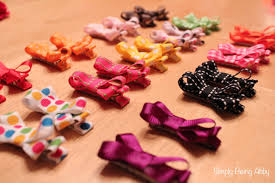diy baby hair bows diy hair bows simply being abby