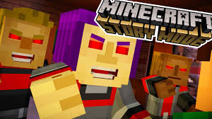 possessed evil townspeople minecraft story mode episode