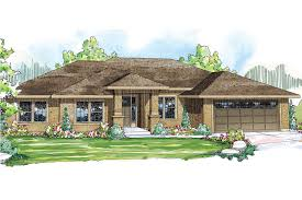 Prairie Home Style Prairie Style House Plans Crownpoint 30 790 Associated Designs