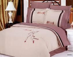 Bedding In A Bag Sets Le Vele Baseball Embroidered Duvet Cover Bed In Bag