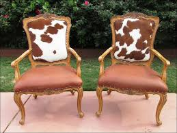 furnitures ideas magnificent cowhide dining chair cow print