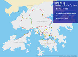 Spirit Airlines Route Map by Hong Kong Strategic Route And Exit Number System Wikipedia