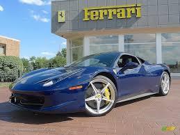Ferrari 458 Blue - 2010 ferrari 458 italia in blue scozia dark blue 175572