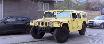 military hummer h1 what it u0027s like to live with a hummer h1 and crushing a pt cruiser