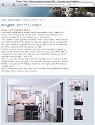 Kitchen Design Competition 2010 Sub Zero Wolf Design Competition Winner Amanda Larose
