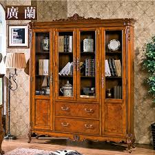 Solid Wood Bookcases With Glass Doors Solid Wood Bookcase Glass Door Special Ideas Solid Wood Bookcase