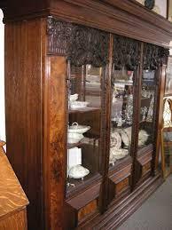 Antique German Display Cabinet West Saint Paul Antiques