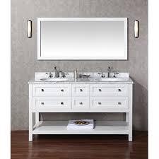 60 off stufurhome marla 60 inch double sink bathroom vanity with
