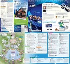 Epcot World Showcase Map Future World Disney World Epcot