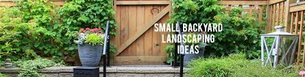 Landscaping Ideas For A Small Backyard by Small Backyard Landscaping Ideas Rc Willey Blog