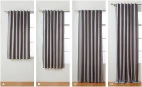 Should Curtains Go To The Floor Decorating Choose The Right Curtains West Elm