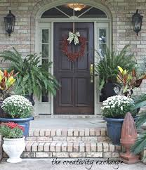 small front porch decorating ideas for winter small front porch