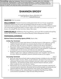 Sample Of Resume For Accounting Position by Sample Resume For An Accounting Position Dummies