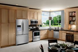 kitchens with stainless appliances what color cabinets go with stainless steel appliances how to