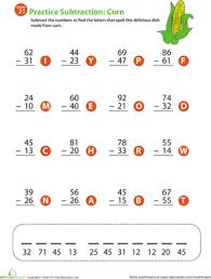 subtraction worksheets grade 2 worksheets