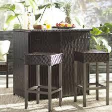 Patio Furniture Bar Set Patio Bar Furniture You Ll Wayfair