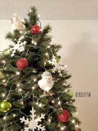 my decor this year ornaments and winter birds from target