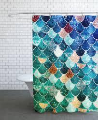 Die Duschvorhang Frage Mermaid Tiffany Als Duschvorhang Von Monika Strigel Juniqe
